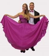 Lila Keringő ruha és frakk