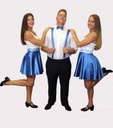 Kék rocky ruha