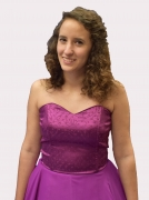 Lila keringő ruha